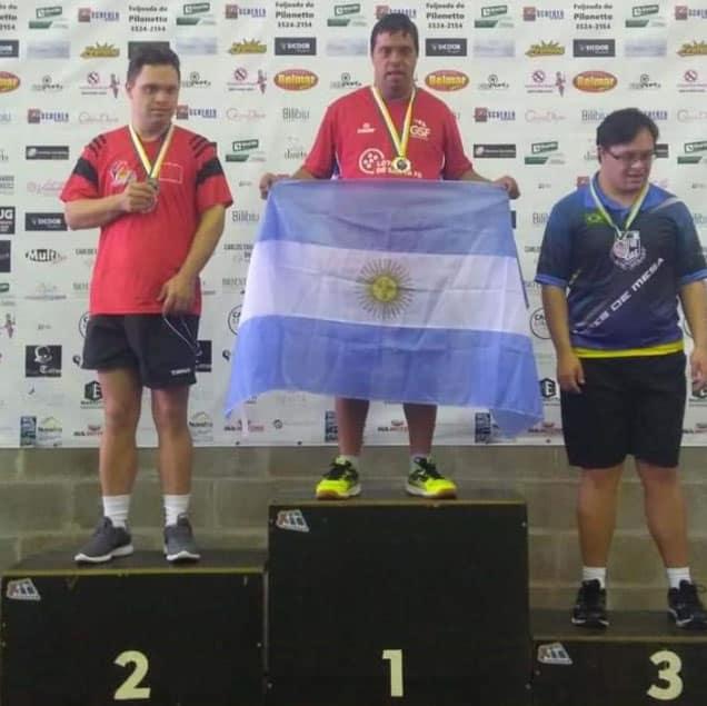 Juampi Campeón en Brasil!