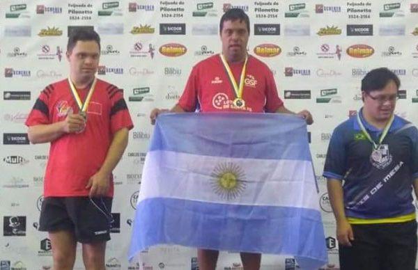 Juampi Campeon en Brasil